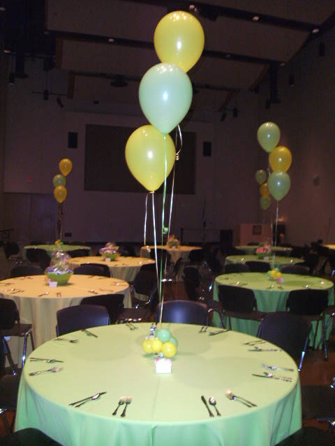 Centerpieces Balloon Bouquets Tall Floor Bouquets