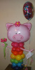 #CH45 - ANIMAL Playful Pig Balloon Character