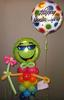 #CH10- AIR FILLED CHARACTER 3ft. Mr. Cool Green Face Character