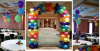 Multi Color Arch and Centerpiece Designs