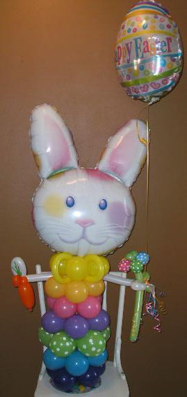 #CH62 - 3.5ft Bunny Balloon Character