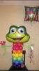 #CH59 - 3.5ft  Funny Frog Balloon Character