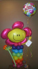#CH12 - 3.5ft AIR FILLED Big Flower Smiley Face Character